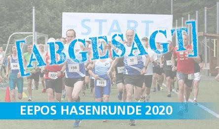 Absage Hasenrundenlauf 2020 eepos