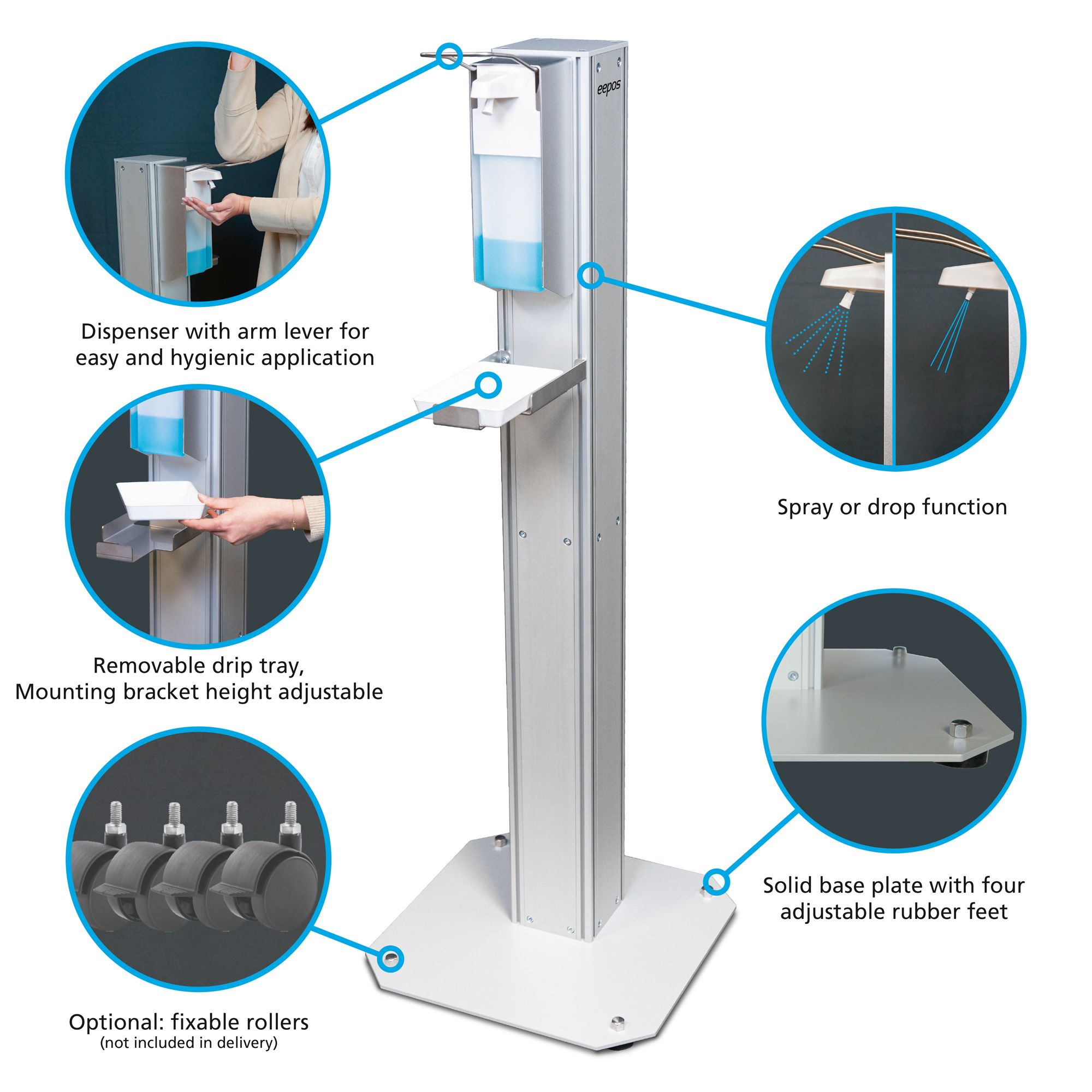 Disinfection dispenser