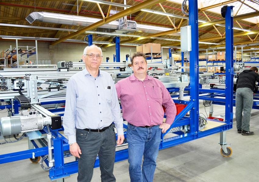 Georg Seibert und Anton Adam from Witron Logoistik +Informatik Gmbh
