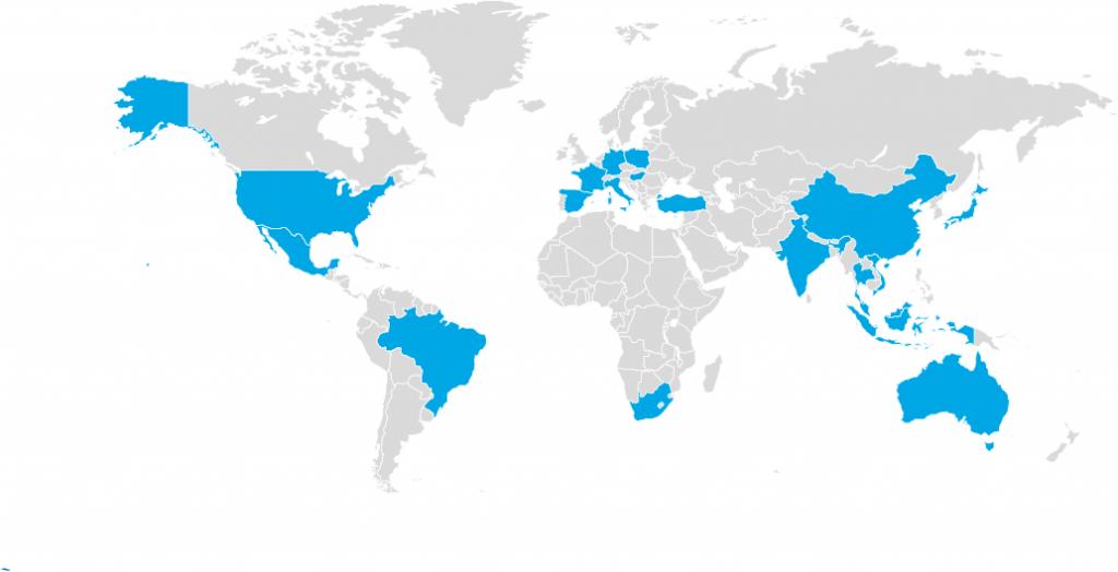 eepos Standorte weltweit